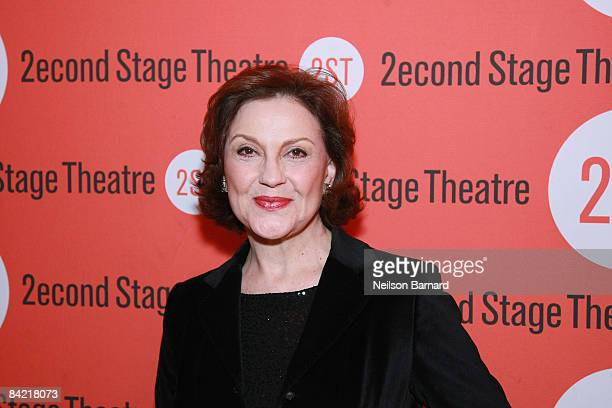 Actress Kelly Bishop attends the opening night after party for Becky Shaw at Spanky's on January 8 2009 in New York City