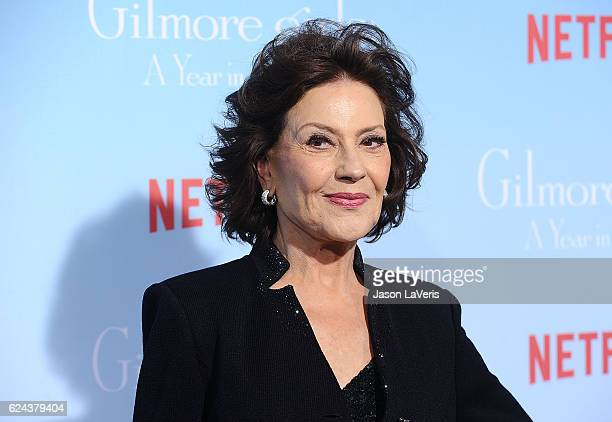 Actress Kelly Bishop attends the premiere of Gilmore Girls A Year in the Life at Regency Bruin Theatre on November 18 2016 in Los Angeles California