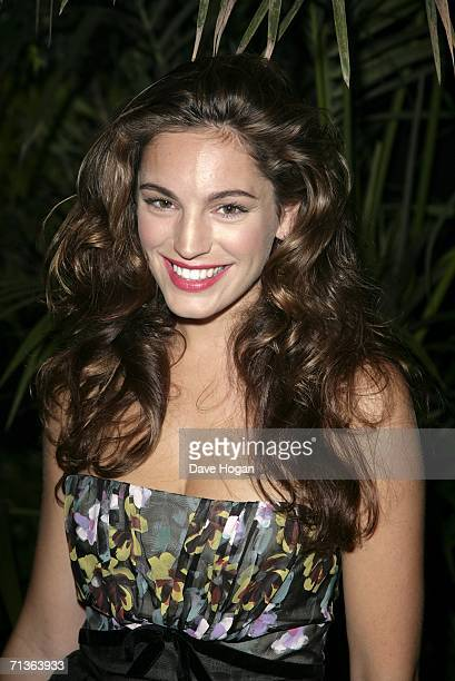 Actress Kelly Brook arrives at the after party following the European Premiere of Pirates Of The Caribbean Dead Man's Chest at Old Billingsgate on...
