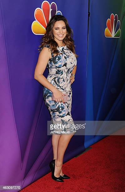 Actress Kelly Brook attends the NBCUniversal 2015 Press Tour at the Langham Huntington Hotel on January 15 2015 in Pasadena California