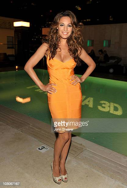 "Actress Kelly Brook attends the Pirahna 3D ""Too Hot For Comic-Con"" party sponsored by Real D 3D and Svedka Vodka held at At The Se San Diego Siren..."
