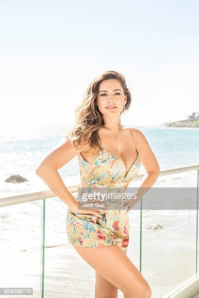 Actress Kelly Brook is photographed for Hello UK on February 13 2015 in Malibu California PUBLISHED IMAGE