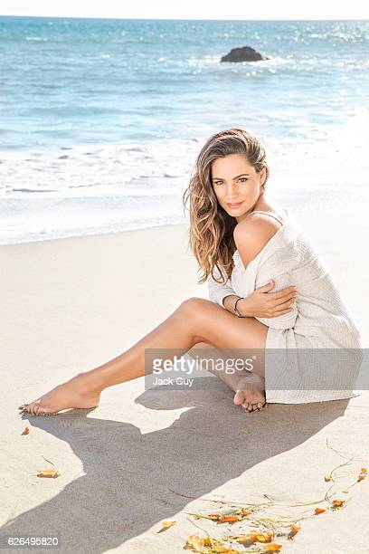 Actress Kelly Brook is photographed for Hello! UK on February 13, 2015 in Malibu, California. PUBLISHED IMAGE.