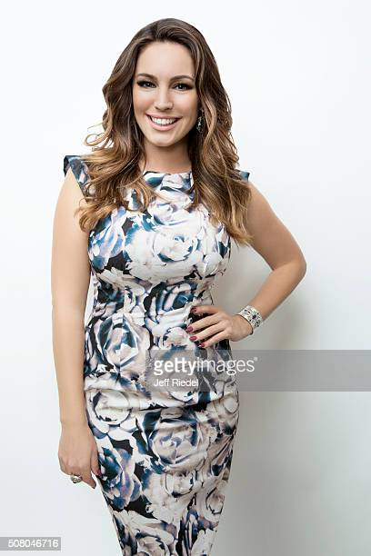 Actress Kelly Brook is photographed for TV Guide Magazine on January 16, 2015 in Pasadena, California.