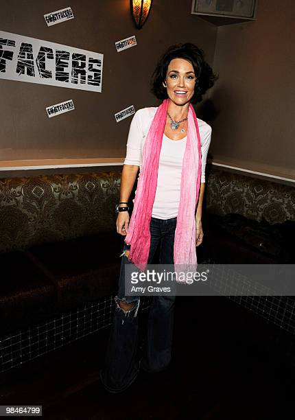 Actress Kelly Carlson attends the CWTVcom viewing party of The Ghostfacers at La Vida on April 14 2010 in Los Angeles California