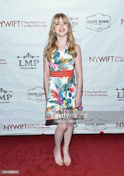 Actress Kelly Grace attends a screening of the film Little Miss Perfect at TCL Chinese Theatre on May 26 2016 in Hollywood California