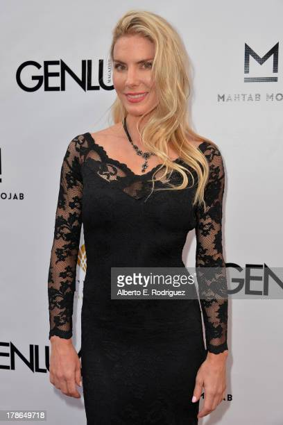 Actress Kelly Greyson arrives to Genlux Magazine's Issue Release party featuring Erika Christensen at The Sofitel Hotel on August 29, 2013 in Los...