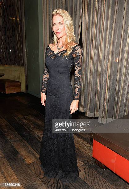 Actress Kelly Greyson attend Genlux Magazine's Issue Release party featuring Erika Christensen at The Sofitel Hotel on August 29, 2013 in Los...