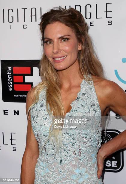 """Actress Kelly Greyson attends a benefit screening of Digital Jungle Pictures' """"Broken Memories"""" at the Writers Guild Theater on November 14, 2017 in..."""