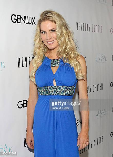 Actress Kelly Greyson attends a party for Genlux Magazine's new issue at The Beverly Center on November 14, 2013 in Los Angeles, California.