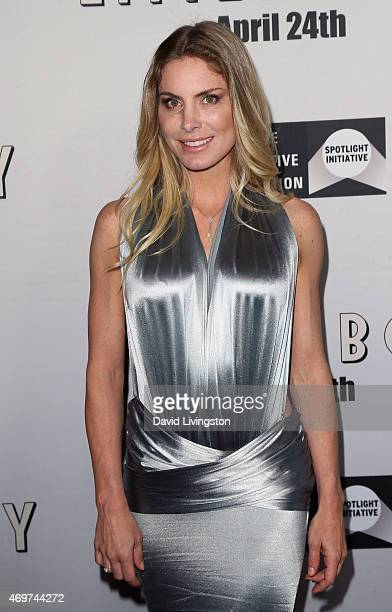 """Actress Kelly Greyson attends the premiere of Open Road Films' """"Little Boy"""" at Regal Cinemas L.A. Live on April 14, 2015 in Los Angeles, California."""