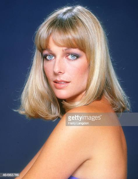 Actress Kelly Harmon poses for a portrait in 1985 in Los Angeles California