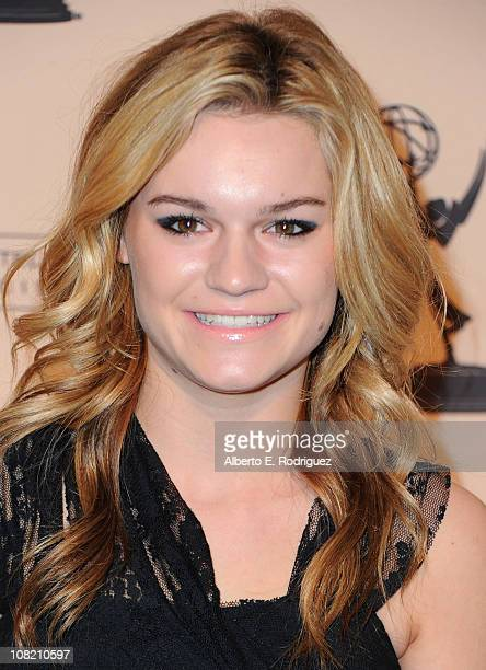 Actress Kelly Heyer arrives to the Academy of Television Arts Sciences' Hall of Fame Committe's 20th Annual Induction Gala on January 20 2011 in...