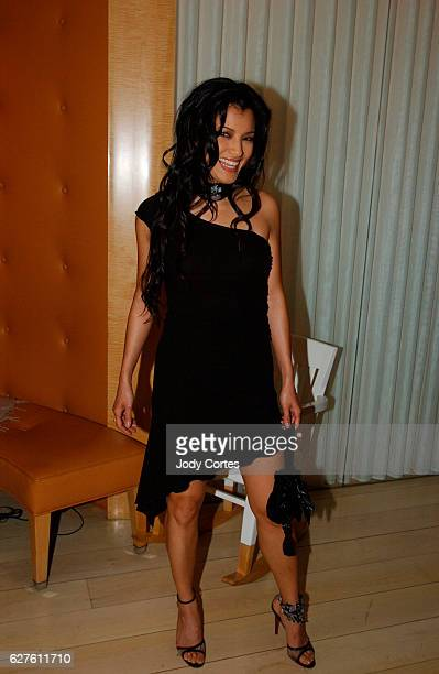 Actress Kelly Hu arrives at the Warner Music Group and Entertainment Weekly postGrammy party
