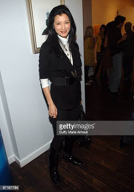 COVERAGE*** Actress Kelly Hu attends Sanuk Presents An Evening For The Environment and launches the Rasta line at the Celebrity Vault on February 27...