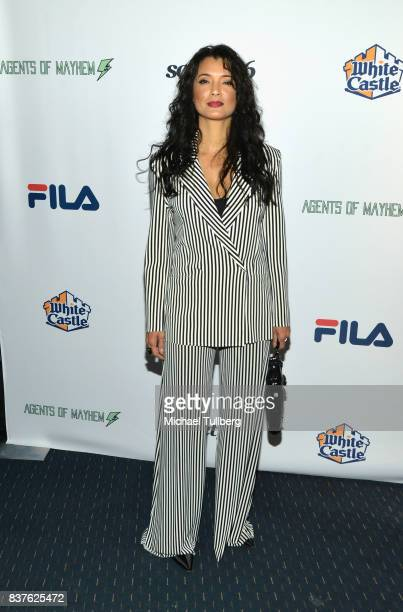 Actress Kelly Hu attends the Extraordinary Stan Lee tribute event at Saban Theatre on August 22 2017 in Beverly Hills California