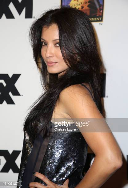 Actress Kelly Hu attends the Maxim FX and Home Entertainment ComicCon Party on July 19 2013 in San Diego California