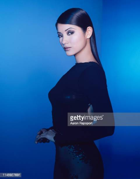 Actress Kelly Hu poses for a portrait in Los Angeles, California.