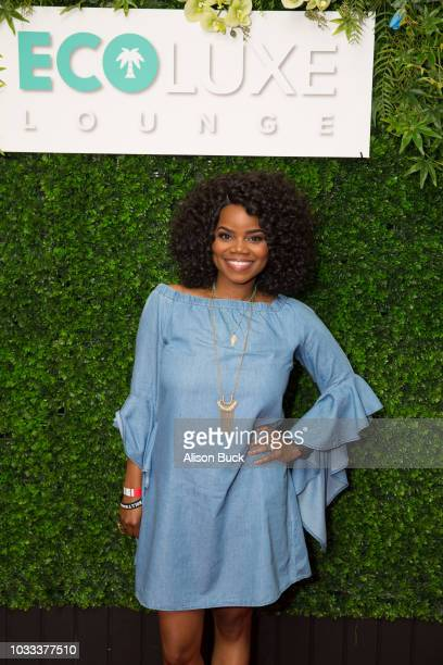 Actress Kelly Jenrette attends EcoLuxe Pre-Awards Party on September 14, 2018 in Beverly Hills, California.