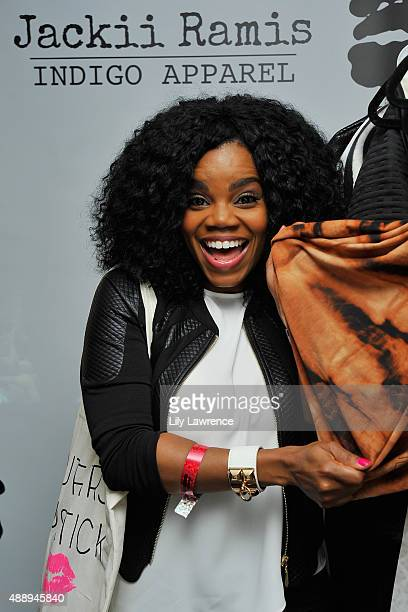 Actress Kelly Jenrette attends Kari Feinstein's Style Lounge at Sunset Marquis Hotel Villas on September 18 2015 in West Hollywood California