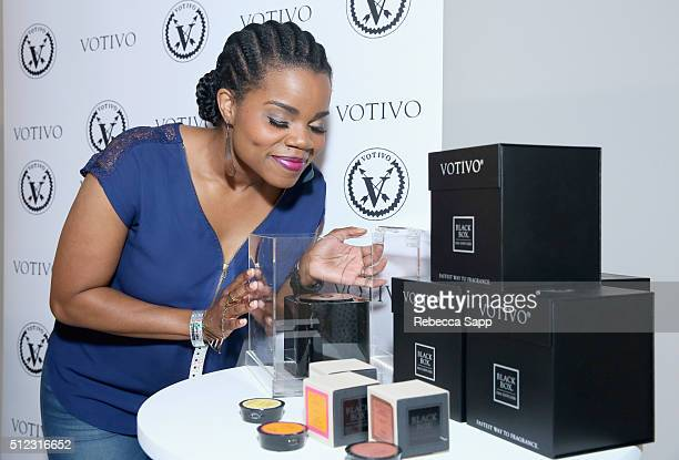 Actress Kelly Jenrette attends Kari Feinstein's Style Lounge presented by LIFX on February 25 2016 in Los Angeles California