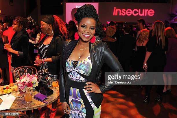 Actress Kelly Jenrette attends the HBO's 'Insecure' Premiere - After Party at Studio 11 on October 6, 2016 in Los Angeles, California.