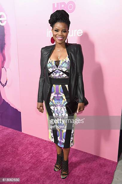 """Actress Kelly Jenrette attends the HBO's """"Insecure"""" Premiere at Nate Holden Performing Arts Center on October 6, 2016 in Los Angeles, California."""