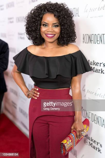 Actress Kelly Jenrette attends the Los Angeles Confidential Emmys Celebration at Kimpton La Peer Hotel on September 16, 2018 in West Hollywood,...