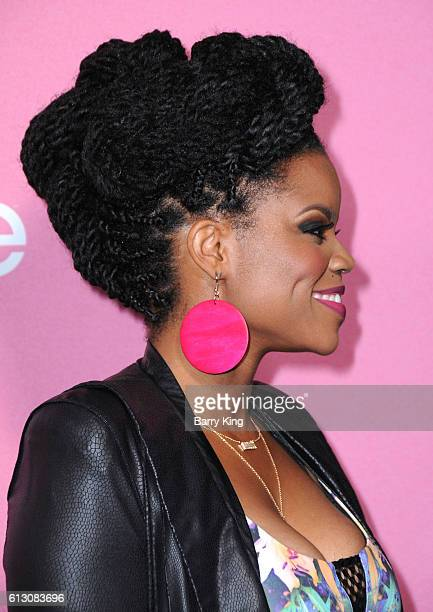 Actress Kelly Jenrette attends the premiere of HBO's 'Insecure' at Nate Holden Performing Arts Center on October 6, 2016 in Los Angeles, California.