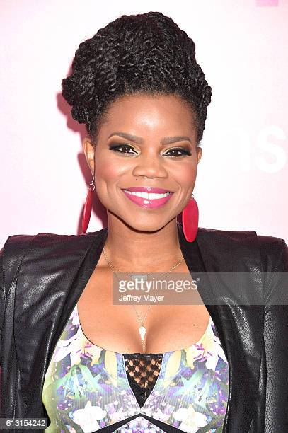 Actress Kelly Jenrette attends the premiere of 'Insecure' at Nate Holden Performing Arts Center on October 6, 2016 in Los Angeles, California.