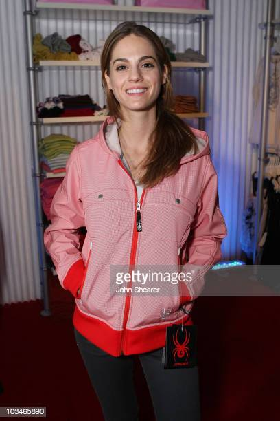 Actress Kelly Kruger attends Fred Segal at The Lift on January 19 2008 in Park City Utah