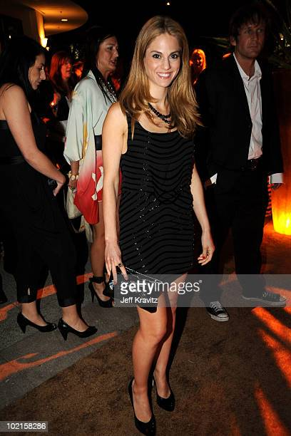 Actress Kelly Kruger attends HBO's Entourage Season 7 premiere after party held at Paramount Theater on the Paramount Studios lot on June 16 2010 in...