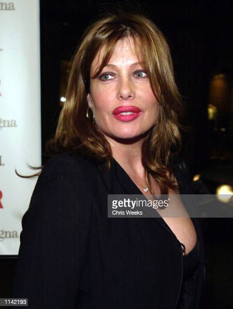 """Actress Kelly Le Brock arrives at the third annual """"Cast Your Ballot Party"""" hosted by Vanity Fair magazine and fashion house Ermenegildo Zegna..."""