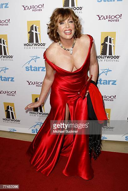 Actress Kelly LeBrock arrives at the 11th Annual Hollywood Awards held at the Beverly Hilton Hotel on October 22, 2007 in Los Angeles, California.