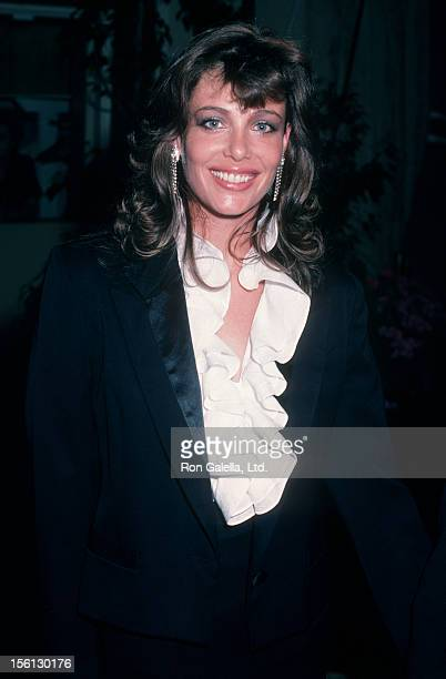 Actress Kelly LeBrock attending 13th Annual American Film Institute Lifetime Achievement Awards Honoring Gene Kelly on March 7 1985 at the Beverly...