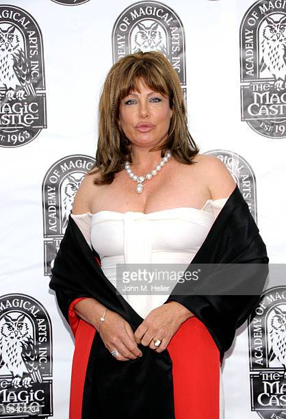 Actress Kelly LeBrock attends the 42nd Annual Academy Of Magical Arts Awards at the Avalon on April 11 2010 in Hollywood California