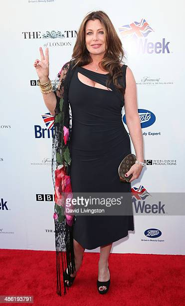 Actress Kelly LeBrock attends the 8th Annual BritWeek Launch Party on April 22, 2014 in Los Angeles, California.