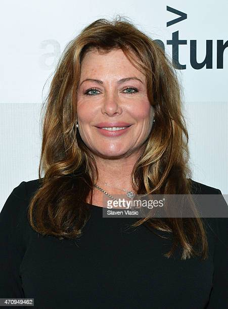 Actress Kelly LeBrock attends Tribeca Disruptive Innovation Awards during the 2015 Tribeca Film Festival at BMCC Tribeca PAC on April 24, 2015 in New...