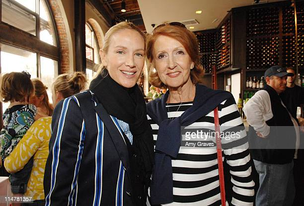 Actress Kelly Lynch and her mother Barbara Lynch attend the Sophie Uliano Gorgeously Green Book Launch Party at Akasha Restaurant on May 10 2008 in...