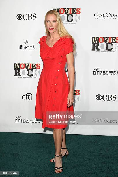 Actress Kelly Lynch arrives at Conde Nast Media Group's 2007 Movies Rock at the Kodak Theatre on December 2 2007 in Hollywood California
