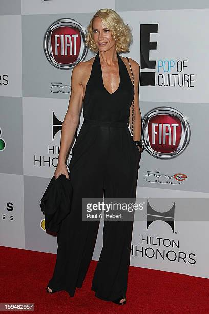 Actress Kelly Lynch arrives at NBC Universal's 70th Annual Golden Globe Awards after party held at the Beverly Hilton Hotel on January 13 2013 in...