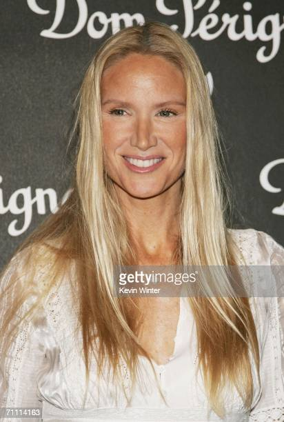 Actress Kelly Lynch arrives at the International Launch of Dom Perignon Rose Vintage 1996 Champagne by Karl Lagerfeld on June 2 2006 in Beverly Hills...