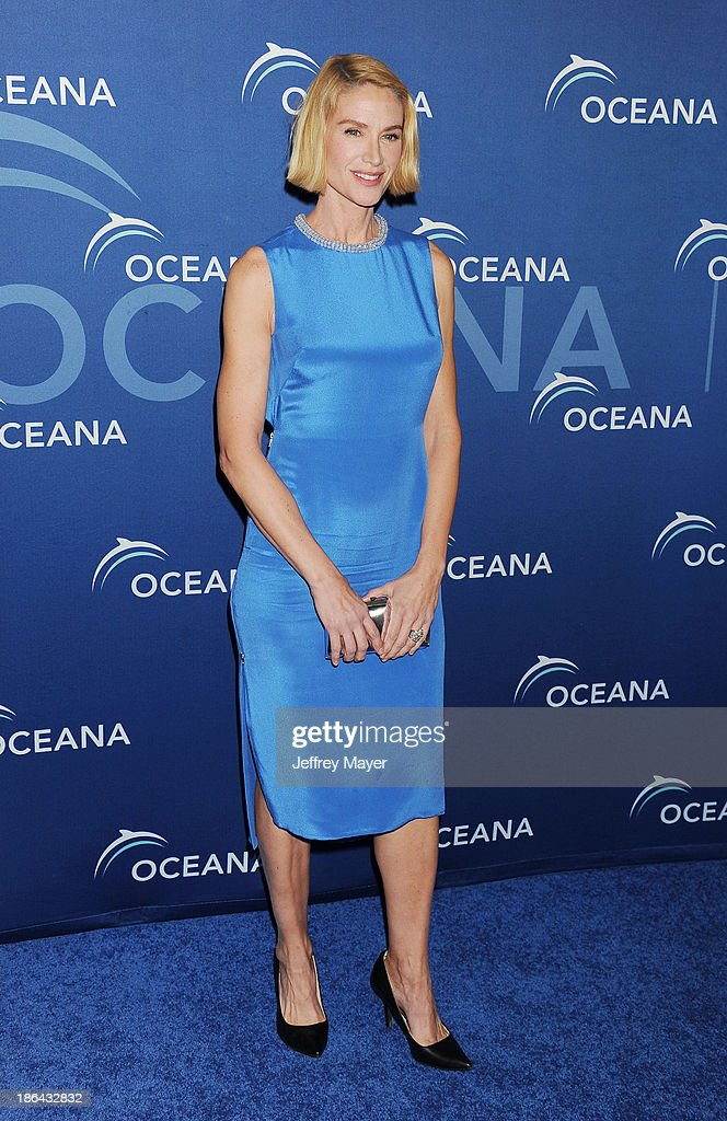Actress Kelly Lynch arrives at the Oceana Partners Award Gala With Former Secretary Of State Hillary Rodham Clinton and HBO CEO Richard Plepler at Regent Beverly Wilshire Hotel on October 30, 2013 in Beverly Hills, California.