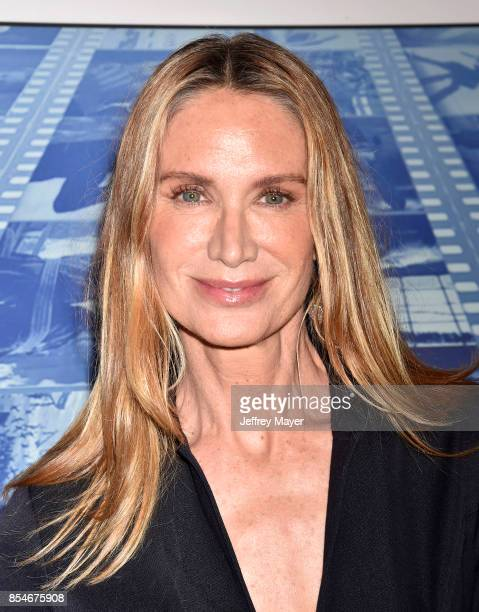 Actress Kelly Lynch arrives at the Premiere Of HBO's 'Spielberg' at Paramount Studios on September 26 2017 in Hollywood California