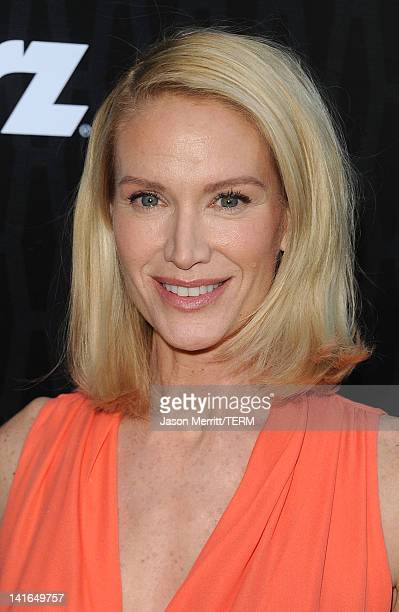 Actress Kelly Lynch arrives at the premiere of Starz's Magic City held at the Directors Guild of America on March 20 2012 in Los Angeles California