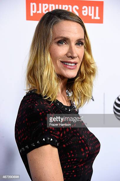 Actress Kelly Lynch arrives at the Tribeca Film Festival Celebrates The 2015 Tribeca Film Festival Program And Tribeca Film's 2015 Upcoming Releases...