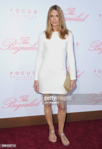 Actress Kelly Lynch arrives at the US Premiere Of The Beguiled at Directors Guild Of America on June 12 2017 in Los Angeles California