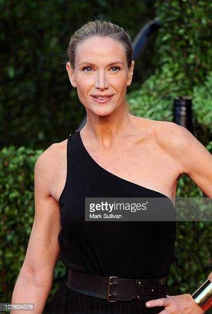 Actress Kelly Lynch arrives at the Vanity Fair Oscar party hosted by Graydon Carter held at Sunset Tower on February 27, 2011 in West Hollywood,...