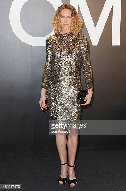 Actress Kelly Lynch arrives at Tom Ford Autumn/Winter 2015 Womenswear Collection Presentation at Milk Studios on February 20, 2015 in Los Angeles,...