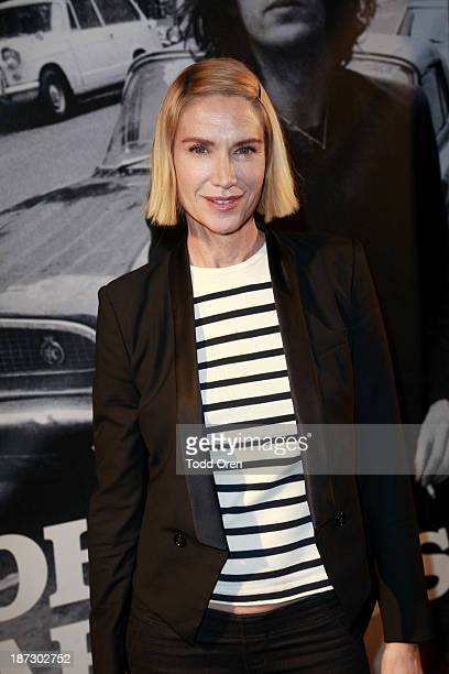 Actress Kelly Lynch arrives to the John Varvatos Rock In Fashion book launch celebration held at John Varvatos Los Angeles on November 7 2013 in Los...